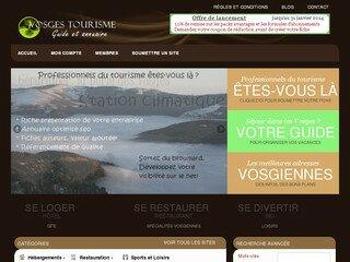 tourisme et vacances dans les Vosges