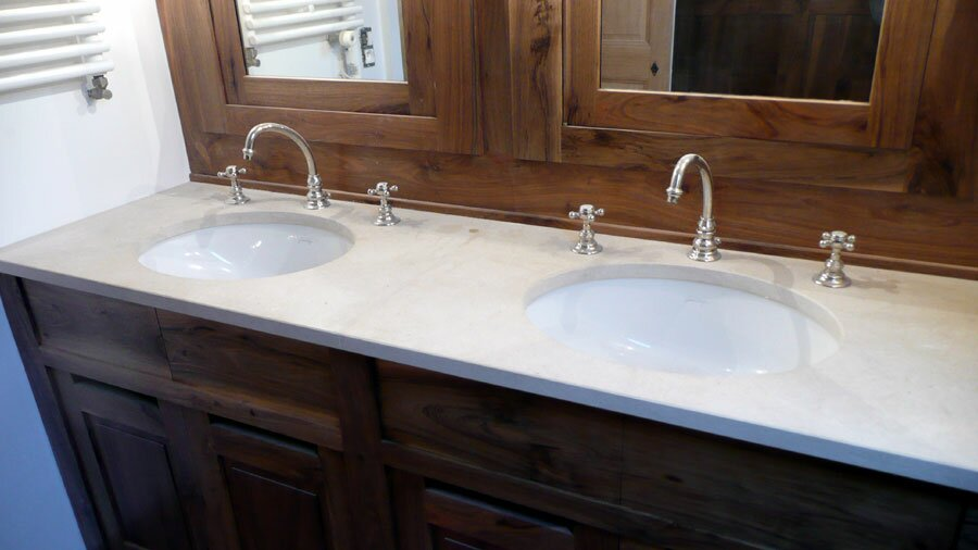 salle de bain marbre marseille